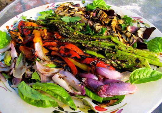 Grilled Vegetable Salad Capri-Style Recipes — Dishmaps
